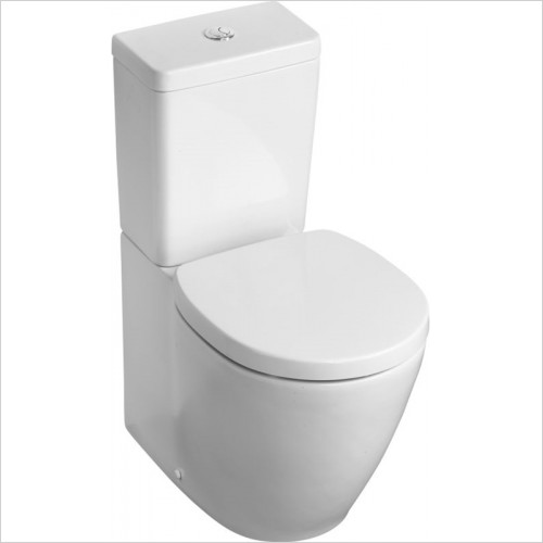 Ideal Standard - Bathrooms - Concept Space Compact Close Coupled/Back To Wall WC Pan