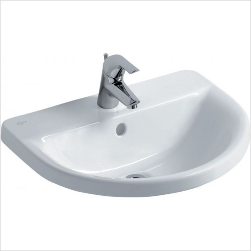 Ideal Standard - Bathrooms - Concept Arc 550mm Countertop Washbasin, 1TH