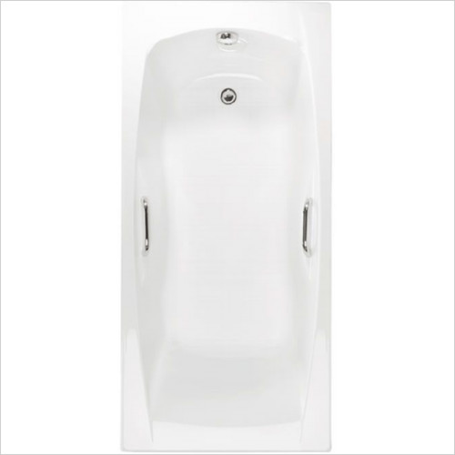 Estuary Bathrooms - Imperial Twin Grips Bath 1500 x 700mm, 5mm