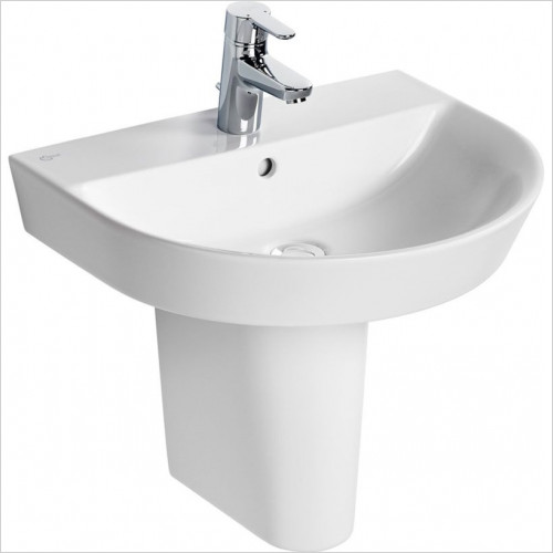 Ideal Standard - Bathrooms - Concept Air Arc 55cm Washbasin - 1TH