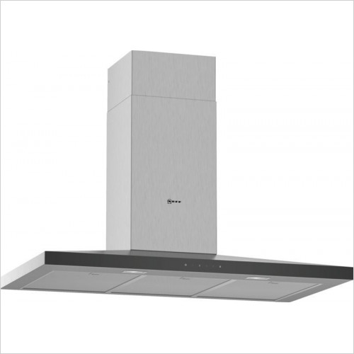 Neff - N50 Pyramid Chimney Hood 90cm
