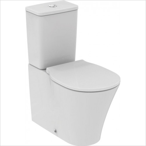 Ideal Standard - Bathrooms - Concept Air Close Coupled Back To Wall WC Pan