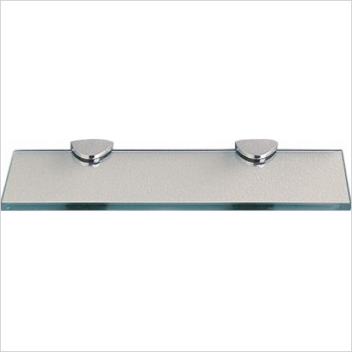 Miller From Sweden Accessories - Classic Shelf 400mm With Chrome Brackets