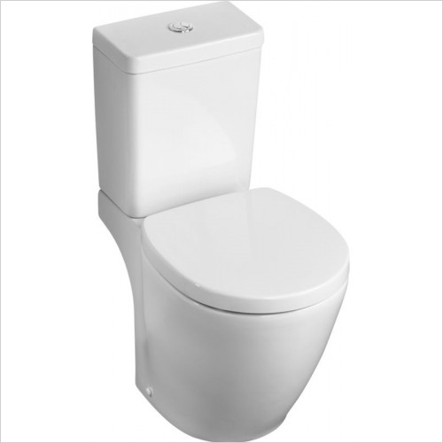 Ideal Standard - Bathrooms - Concept Space Compact Close Coupled WC Pan