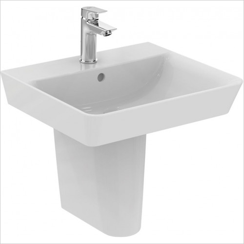 Ideal Standard - Bathrooms - Concept Air Cube 50cm Washbasin, 1TH With Overflow