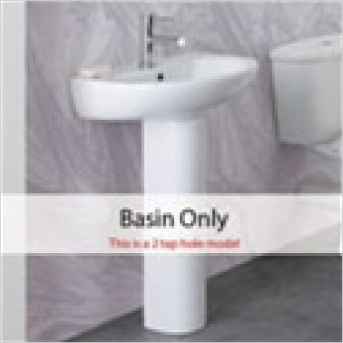 Estuary Bathrooms - Chevernay Basin 2TH