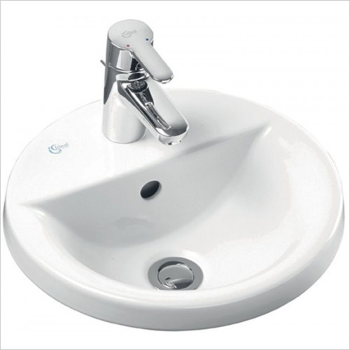 Ideal Standard - Bathrooms - Concept Sphere 380mm Countertop Washbasin 1TH
