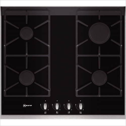 Neff - 60cm Gas Hob With Ceramic Glass Base