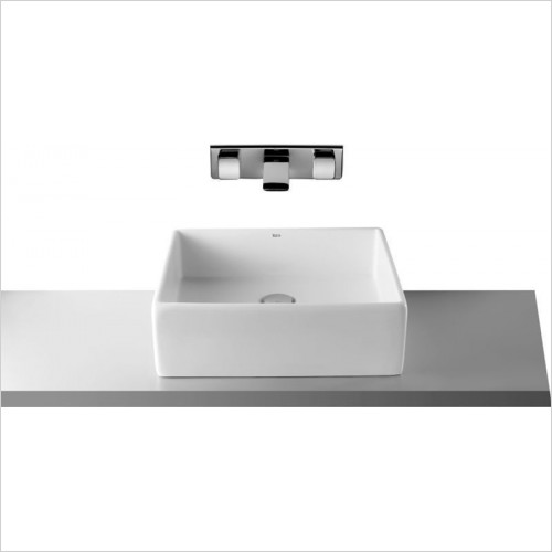 Roca - Sofia On Countertop Basin 460 x 410mm