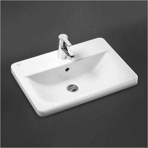 Ideal Standard - Bathrooms - Concept Cube 580mm Countertop Washbasin 1TH