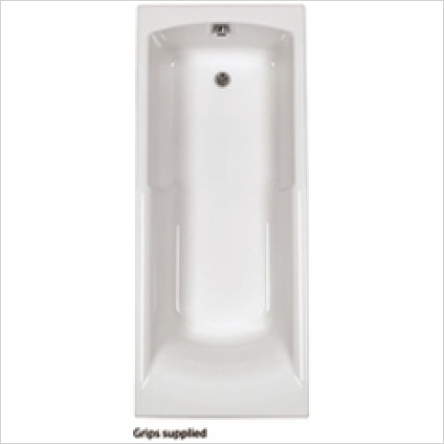 Estuary Bathrooms - Axis Twin Grips Bath 1700 x 700mm, 5mm