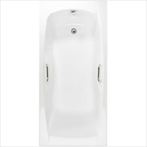 Estuary Bathrooms - Imperial Twin Grips Bath 1675 x 700mm, 5mm
