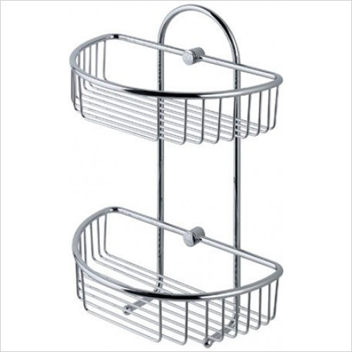 Estuary Accessories - Double Basket 275 x 155 x 310mm