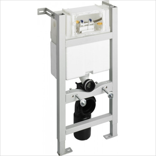 Ideal Standard - Bathrooms - In-Wall System 6/3 or 4.5/3 Litre Flush For WC 820mm