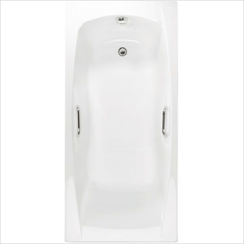 Estuary Bathrooms - Imperial Twin Grips Bath 1600 x 700mm, 5mm