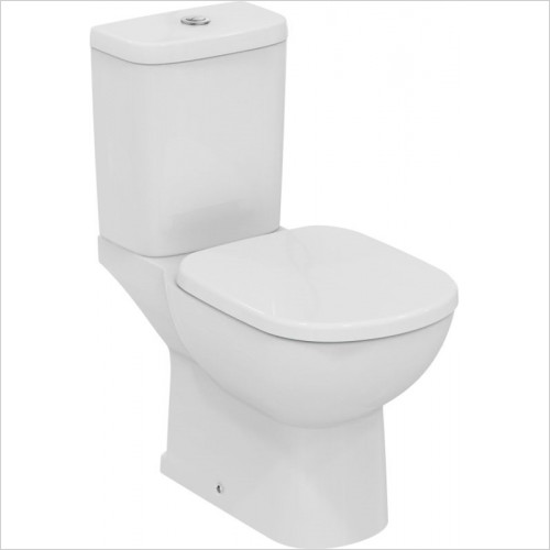 Ideal Standard - Bathrooms - Tempo Close Coupled WC Pan