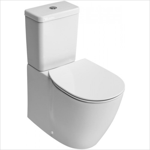 Ideal Standard - Bathrooms - Concept Close Coupled Back To Wall WC Pan