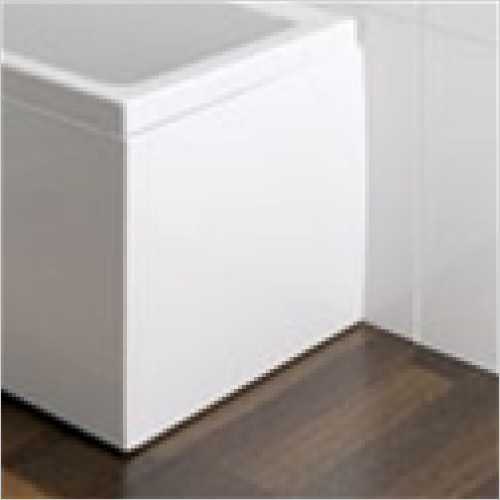 Estuary Bathrooms - Quantum Diamante End Panel