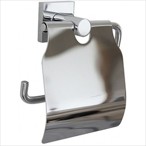 Miller From Sweden Accessories - Atlanta Toilet Roll Holder With Lid