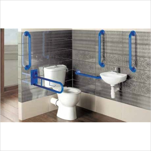 Estuary Bathrooms - Loire Close Coupled Doc M Pack