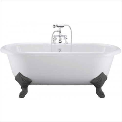 Ideal Standard - Bathrooms - Roll Top 1700 x 800mm Idealcast Bath With Cast Iron Feet NTH
