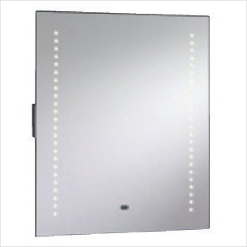 Mere Bathroom Accessories - Vetra 50mm Mirror With Integrated Shaver Socket