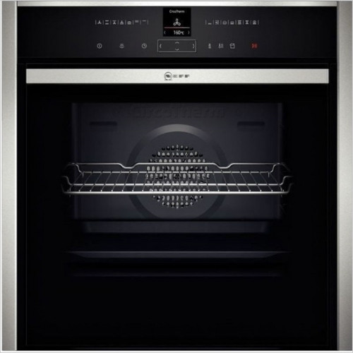 Neff - Slide & Hide Single Pyrolytic Oven, CircoTherm, Electronic