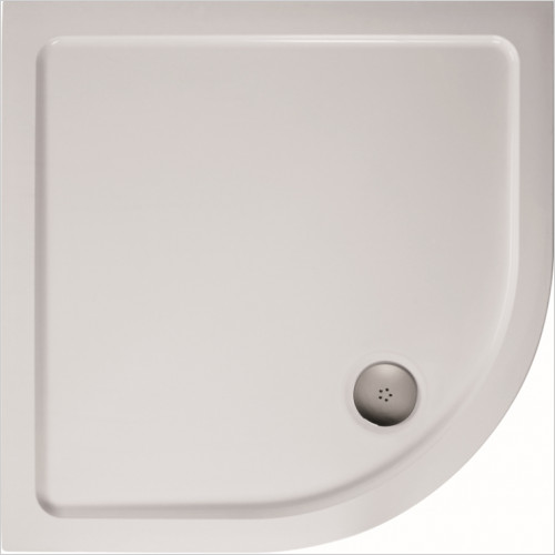 Ideal Standard - Bathrooms - Idealite Quadrant Flat Top Shower Tray, 800x800mm & Waste