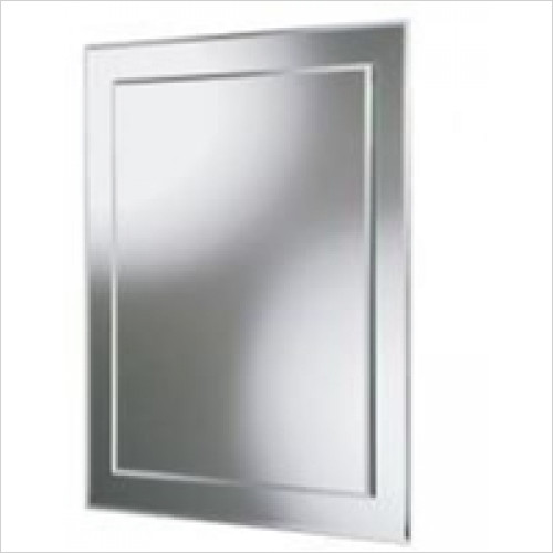 HiB Accessories - Olivia Rectangular Mirror 60 x 40cm