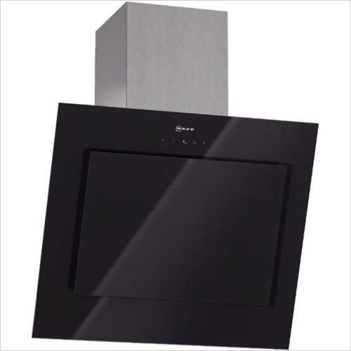 Neff - 60cm Angled Design Chimney Hood With Glass