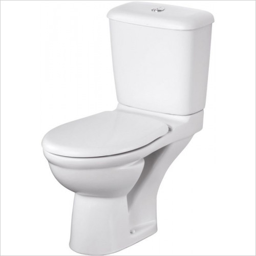 Ideal Standard - Bathrooms - Alto Close Coupled 6/4 Litre Valve Cistern Bottom Supply