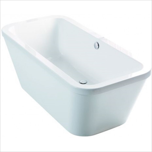 Estuary Bathrooms - Halcyon Square Freestanding Bath 1750 x 800mm, Carronite