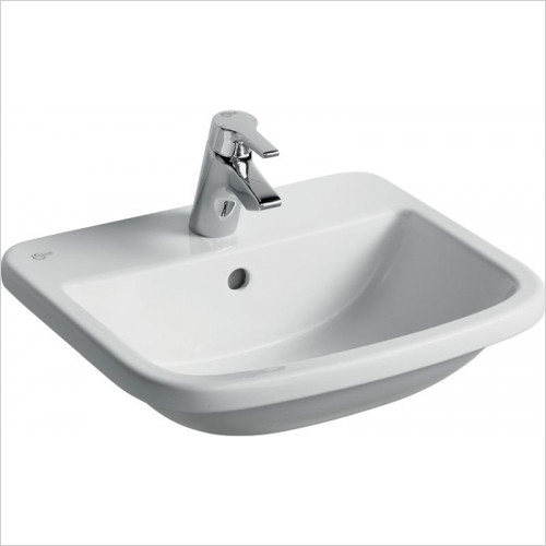 Ideal Standard - Bathrooms - Tempo 500mm Countertop Washbasin, 1TH