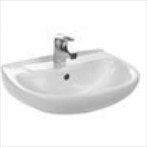 Estuary Bathrooms - Kompact Basin 457mm 1 Tap Hole