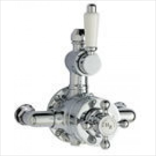 Estuary Bathrooms - Traditional Twin Thermostatic Exposed Shower Valve
