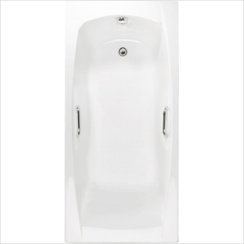 Estuary Bathrooms - Imperial Twin Grips Bath 1400 x 700mm, 5mm