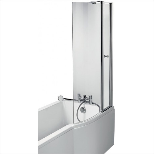 Ideal Standard - Bathrooms - Concept Air Shower Bath Screen With Access Panel