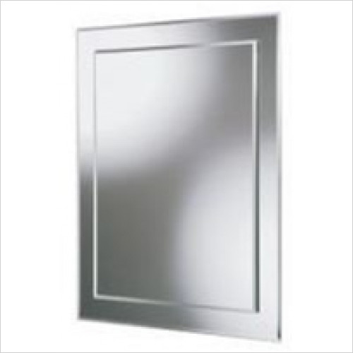 HiB Accessories - Emma Rectangular Mirror 50 x 40cm