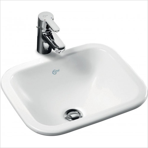 Ideal Standard - Bathrooms - Concept Cube 420mm Under-Countertop Washbasin No Tap Deck