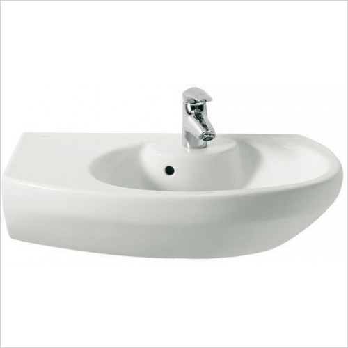 Roca - Senso Compact Corner Basin 680 x 425mm 1TH LH