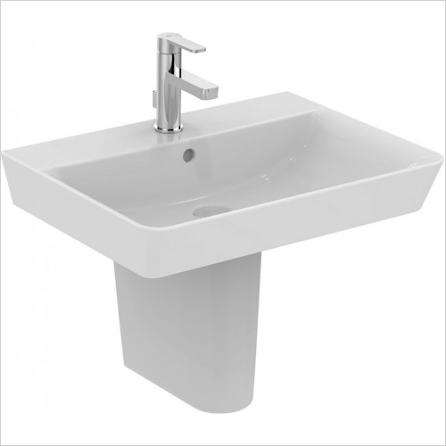 Ideal Standard - Bathrooms - Concept Air Cube 60cm Washbasin, 1TH With Overflow