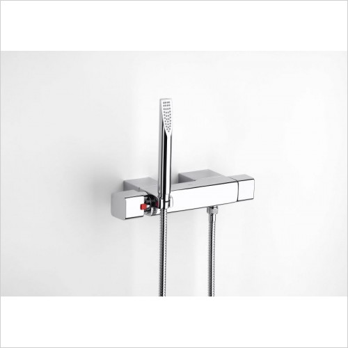Roca - Thesis Wall-Mounted Thermostatic Shower Mixer