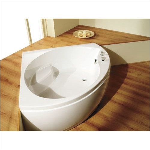 Estuary Bathrooms - Tranquillity Corner Bath 1300 x 1300mm, 5mm