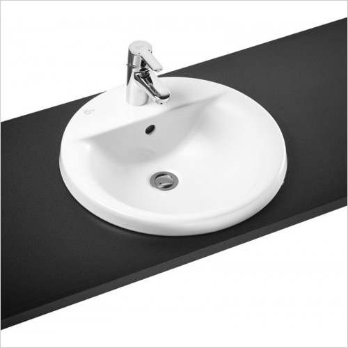 Ideal Standard - Bathrooms - Concept Sphere 480mm Countertop Washbasin 1TH