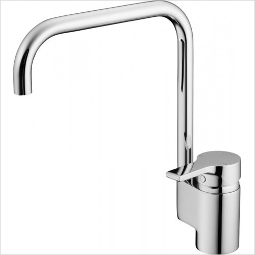Ideal Standard Kitchens - Active Kitchen Mixer 1 Hole High Spout Single Lever Handle