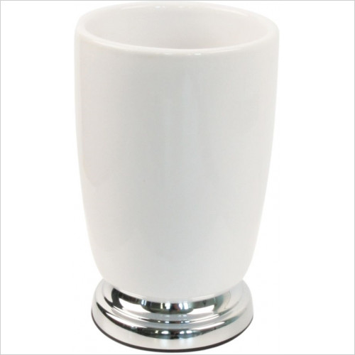 Miller From Sweden Accessories - Classic Freestanding Ceramic Tumbler Holder