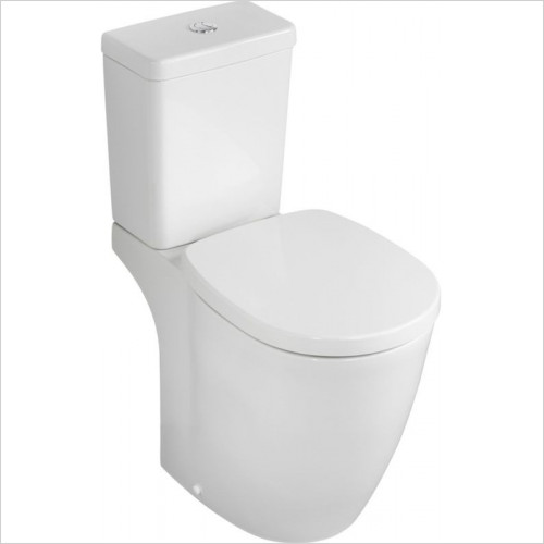 Ideal Standard - Bathrooms - Concept Freedom Close Coupled Raised Height WC Pan