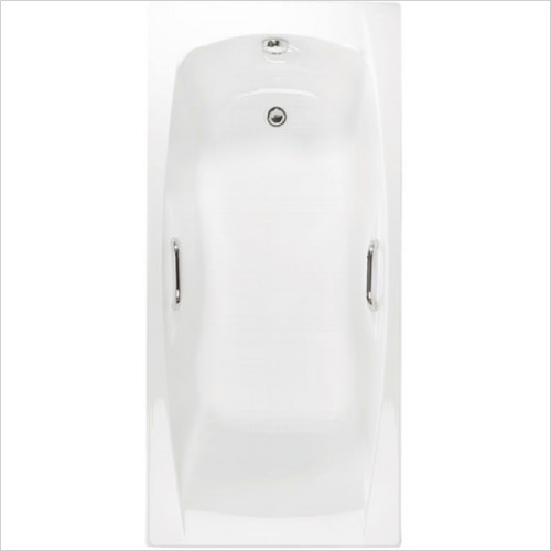 Estuary Bathrooms - Imperial Twin Grips Bath 1700 x 700mm, 5mm
