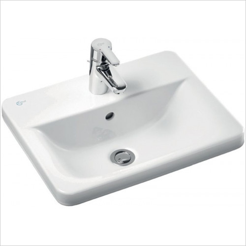 Ideal Standard - Bathrooms - Concept Cube 500mm Countertop Washbasin 1TH