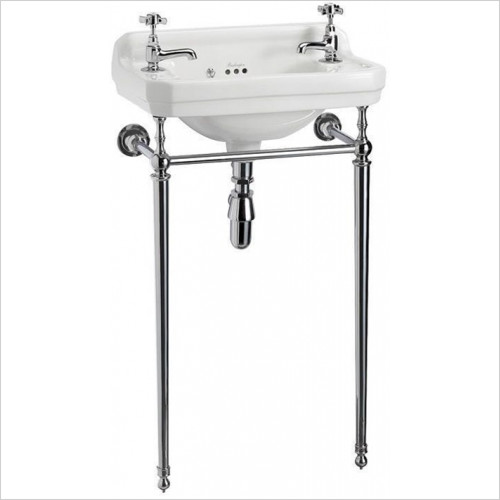 Burlington Bathrooms - Cloakroom Basin Stand 51cm